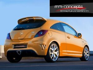 dachspoiler f r opel corsa d hatchback opc look. Black Bedroom Furniture Sets. Home Design Ideas