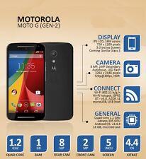 Motorola MOTO G 4G (2nd Gen) Unlocked 5 Inch Android WIFI GPS Smartphone - 8GB