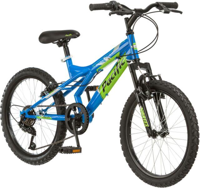 Pacific Evolution 20 Inch Boy\'s Mountain Bike Steel Frame 18 Speed ...