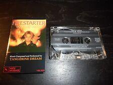 FIRESTARTER OST - TANGERINE DREAM - VARESE SARABANDE CASSETTE