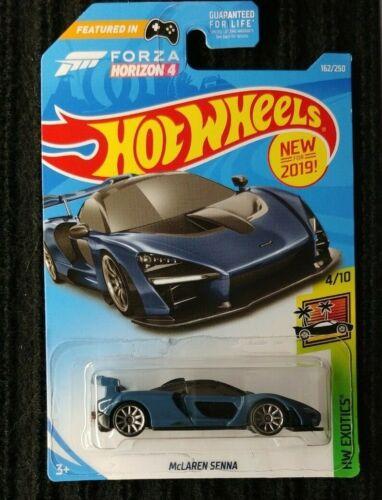 "Hot Wheels Exotics 2018 McLaren Sernna Blue /""Victory Grey/"""