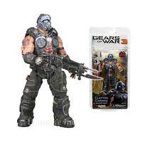 7 Clayton Carmine Figure Gears Of War 3 W/lancer Clay Cog Soldier Neca Series 1