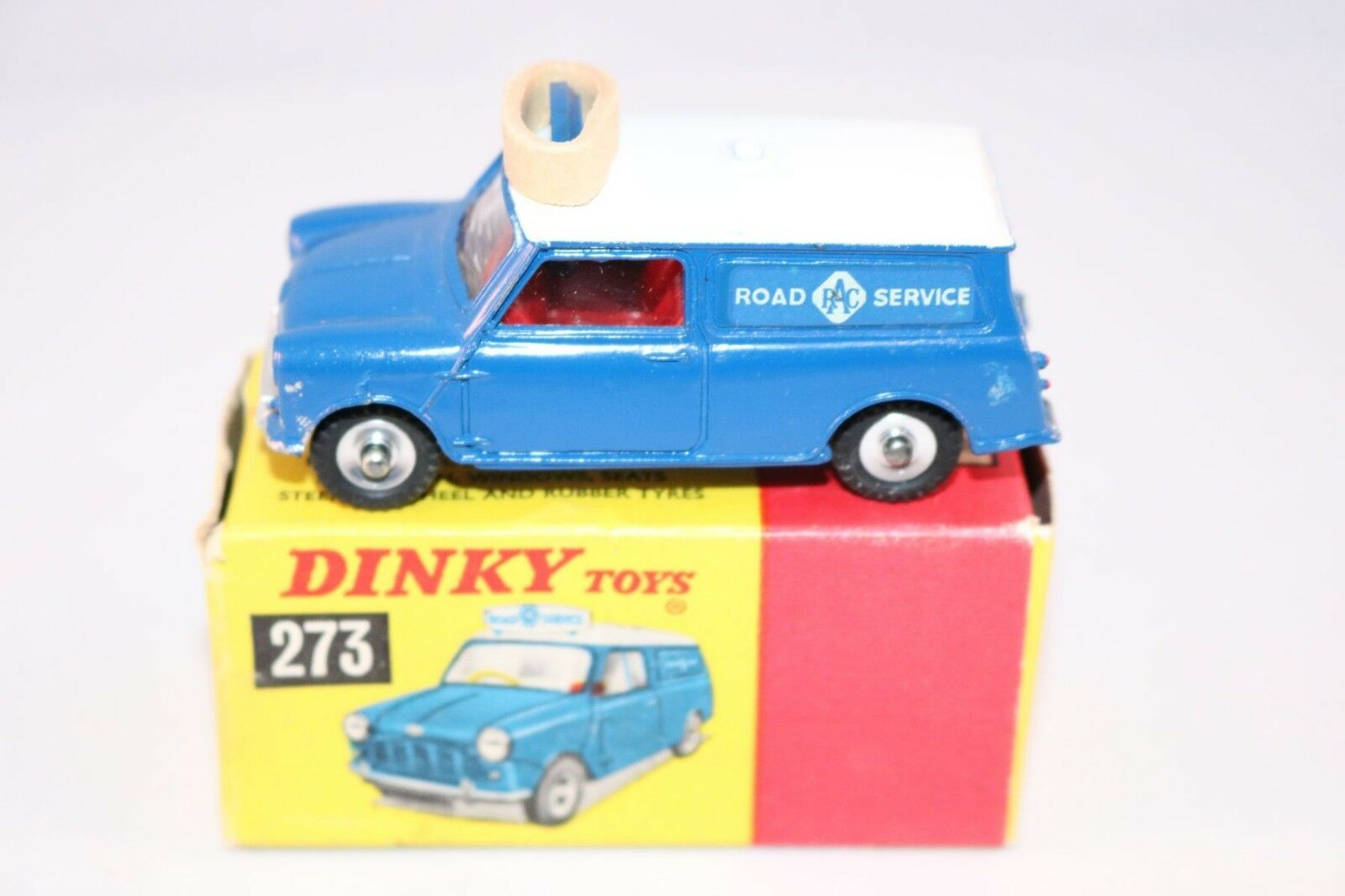Dinky Toys 273 R.A.C. Patrol Mini  Van very near mint in box  jusqu'à 60% de réduction