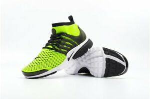 new product b2516 0806c Image is loading NIKE-AIR-PRESTO-FLYKNIT-VOLT-BLACK-833570-701-