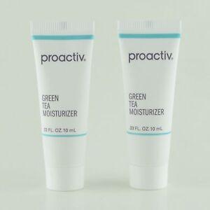 Lot-of-2-Proactiv-Green-Tea-Moisturizer-33-oz-10-mL-travel-size-New