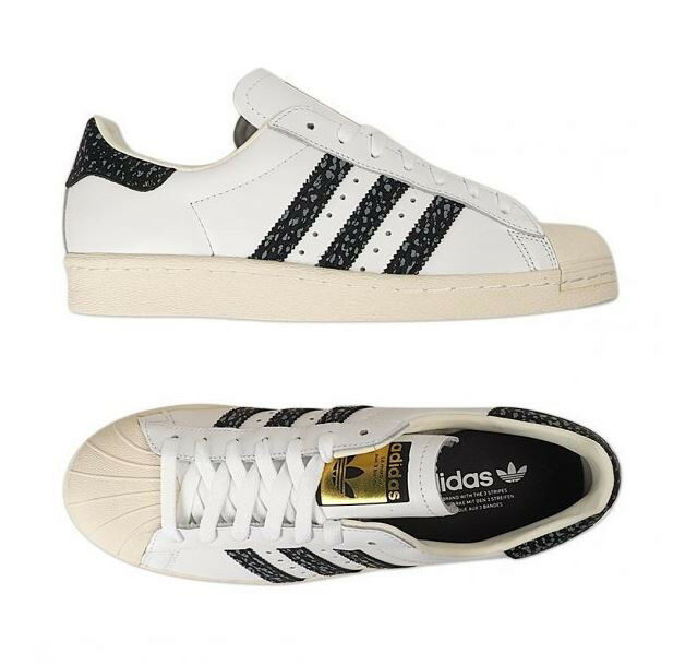 Adidas Original Superstar 80s (S75847) Athletic Sneakers Shoes White