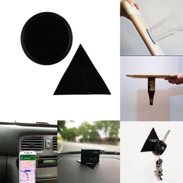 Powerful Fixate Gel Pad Wall Stickers Glue Stick Gel F Pad tablet Round+Triangle