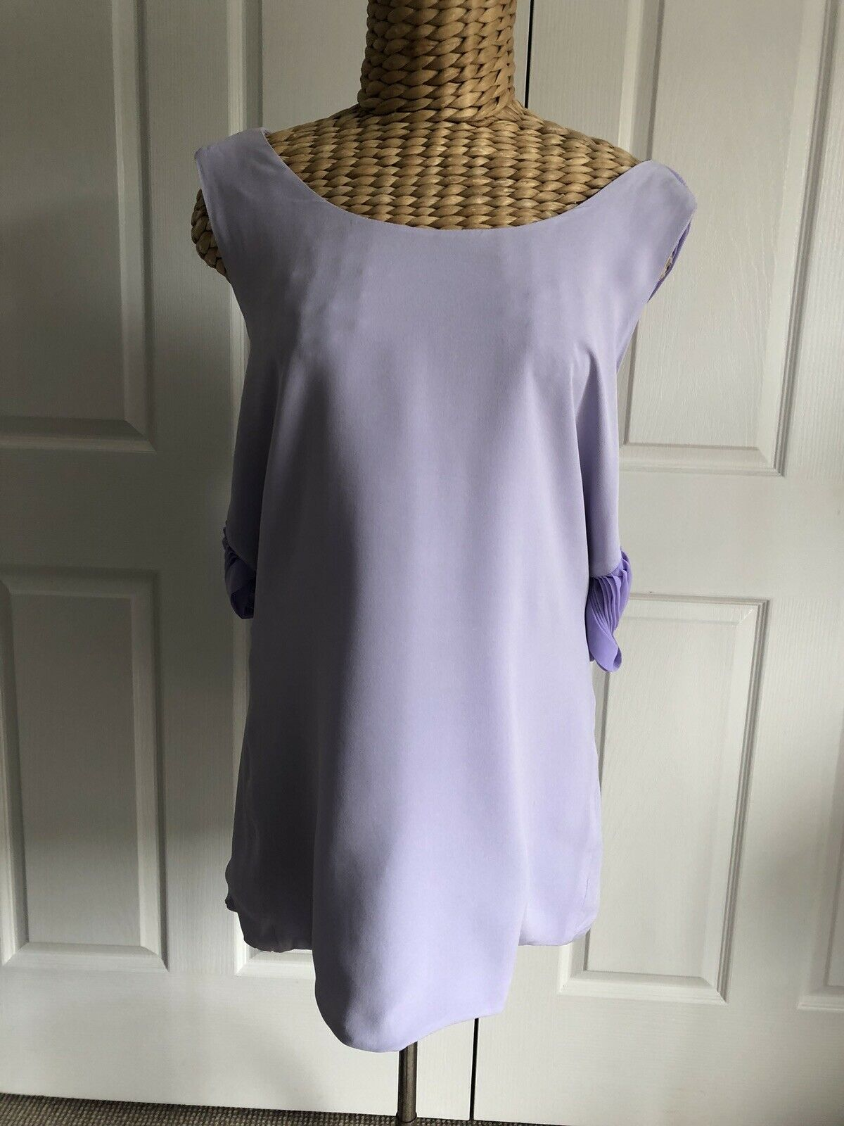 DION LEE SILK TOP Größe 14 NEW WITHOUT TAGS