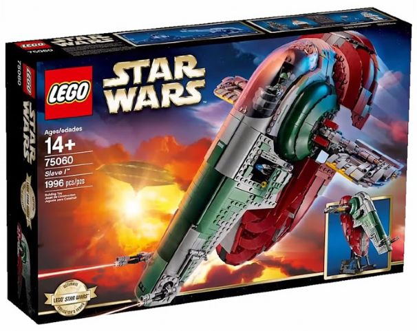 RETIrot LEGO 75060 Star Wars The Slave I (UCS)   NEW Factory-sealed box