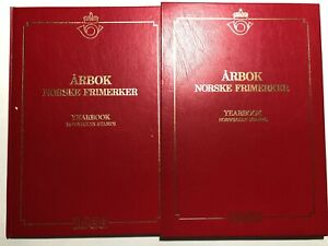 1988-Folder-Yearbook-Jahrbuch-Libro-Arbok-Norway-Norvegia-Norge-Complete-Box