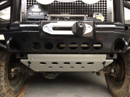 Land Rover Defender 90 110 Aluminum Steering Guard Skid Plate /&Mounting Brackets