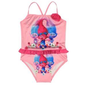 945f68a4f022e Image is loading Top-Quality-Girls-Trolls-Princess-Poppy-Swimsuit-Swim-