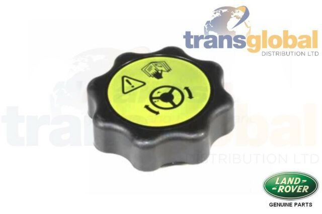 DA8894 Land Rover Discovery 2 Alloy Power Steering Reservoir Cap w Cooling Fins