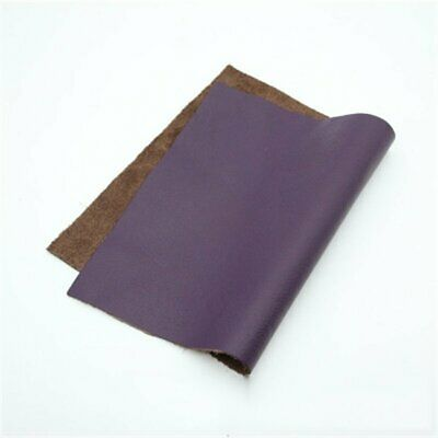 Thick Leather Pieces Premium Genuine Cowhide Scraps Upholstery Craft 20x30cm