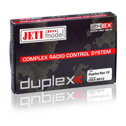 DUPLEX 2.4EX Empfänger REX 10 10-Kanal JETImodel 80001239 820228