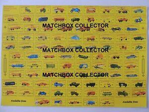 Matchbox-Lesney-Poster-repro-D-Type-Boxes-Series-models-1-75
