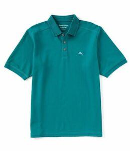 NWT-Tommy-Bahama-Men-039-s-SZ-L-Ebb-Tide-Teal-Emfielder-Polo-Shirt