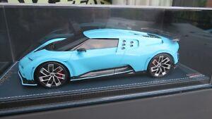 Bugatti Centodieci light blue  MR 1:18 ! NO BBR Looksmart