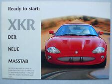 Prospekt - Jaguar XKR Coupe und Cabriolet, 1998, 8 Seiten, Innenseiten Poster