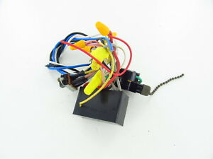 details about 3 used hunter ceiling fan wiring harness with switches capacitor parts Ceiling Fan Mount Kit