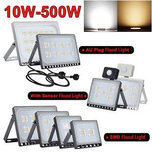 LED-Flood-Light-10W-20W-30W-50W-100W-PIR-Motion-Sensor-AU-Plug-Floodlight-240V