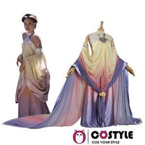 Fancy Ladie\'s Women\'s Stars Wars Padme Amidala Wedding Dress Cosplay ...