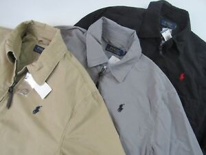 Lauren JacketXl Landon Poplin Ralph Windbreaker Lightweight Polo PZiuXkO