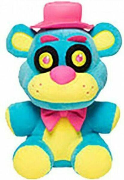 Funko Toys FNAF Five Nights At Freddy/'s FOXY 8in Purple Neon BLACKLIGHT Plush