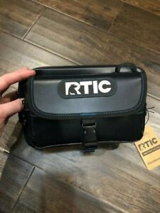 RTIC-Large-Blue-Gray-SidePack-2019-Deluxe-Accessory-For-RTIC-SoftPak-Coolers