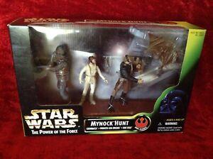 Star Wars Power of the Force Mynock Hunt Action Figure Set (Kenner, 1998) - New!