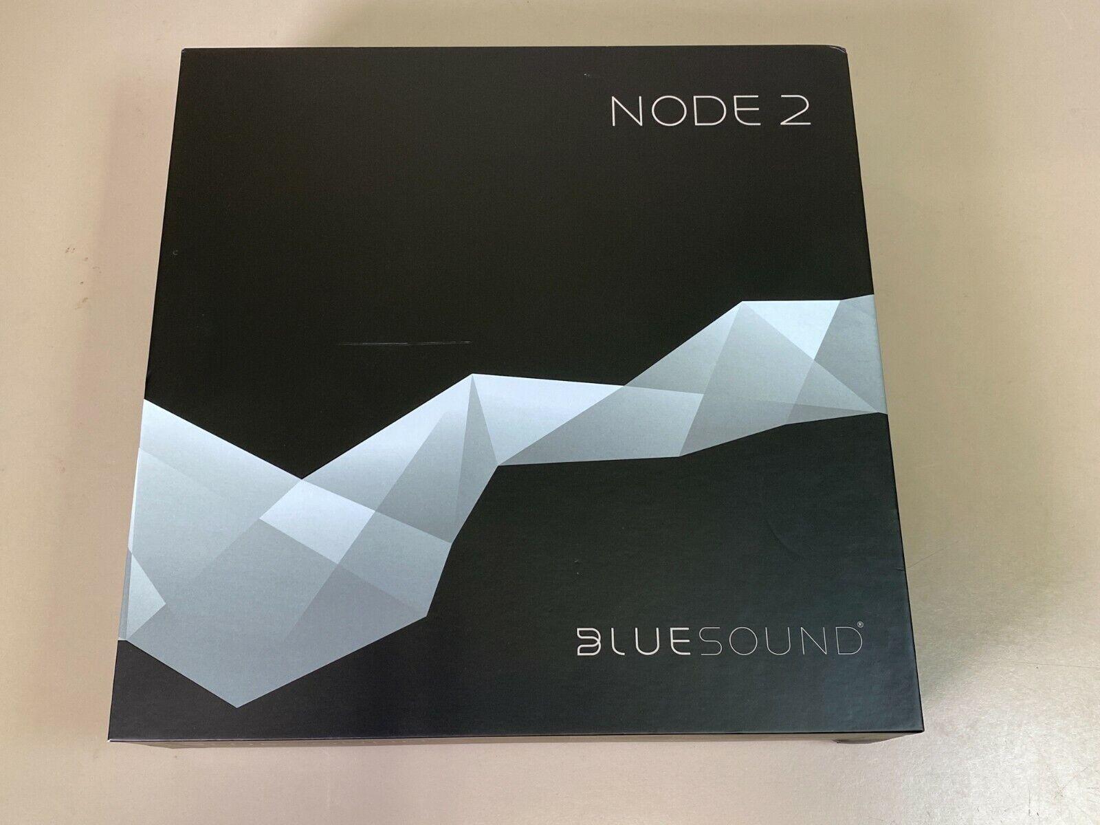 NEW BLUESOUND NODE 2 WIRELESS STREAMING MUSIC PLAYER bluesound music new node player streaming wireless
