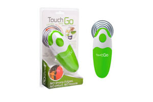 NEW-Touch-And-Go-Battery-Electric-Can-Opener-Automatic-White-or-Green