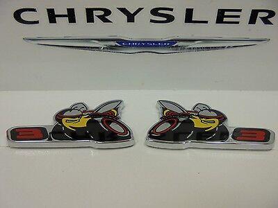 Challenger Charger Scat Pack Stage 3 Level 3 Emblem Emblems Set of 2 New Mopar