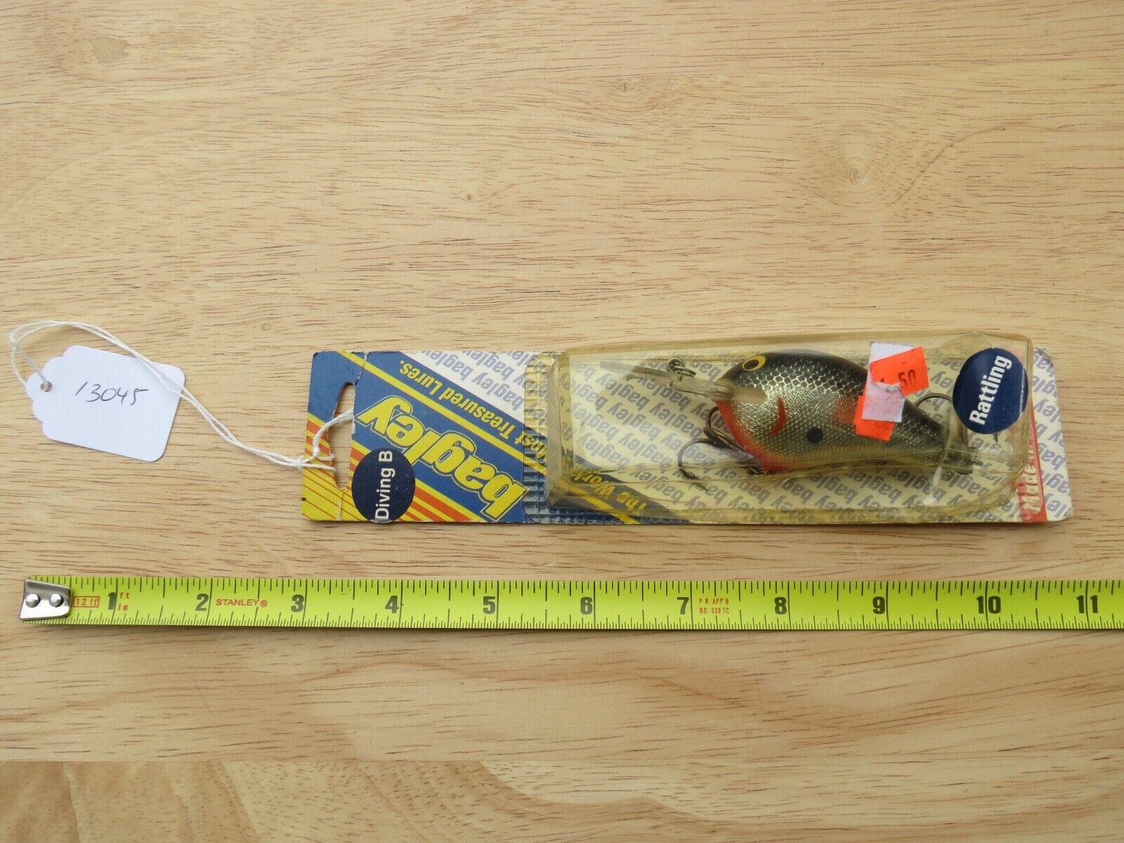 Bagleys Diving B2 Rattling DB2R B8 fishing lure made in USA  (lot)