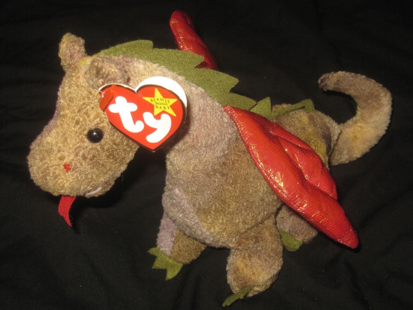 Ty Beanie Baby Original Scorch 1998 P E Pellets NM MT