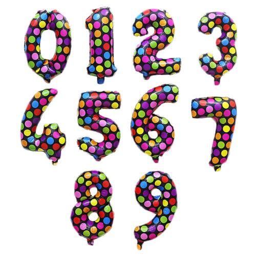 Details about  /40CM Alufolie Party Ballon Hochzeit Zimmer Dekor Geburtstag Birthday Balloons