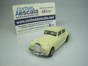 1-64-Matchbox-USADO-USED-REF-142-Rolls-Royce-Silver-Cloud-1-69-cochesaescala