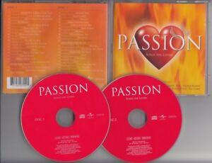 PASSION Songs For Lovers 2-CD Savage Garden Corrs Prince Shania Twain Texas - Leek, Nederland - Staat: Heel goed : Een object dat is gebruikt, maar zich nog in zeer goede staat bevindt. Er is geen schade aan de doos of de hoes. Het object vertoont geen slijtage, krassen, scheuren of deuken. De inlegvellen en boekjes bij het object  - Leek, Nederland