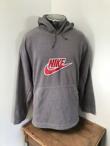 so cheap new photos most popular Details about Mens XL Vintage NIKE 80s 90s Fleece Pullover Hoodie Retro  Sweater *RARE*