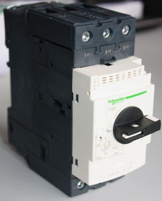 Schneider Electric Motorschutzschalter GV3P32 Schalter Relais Schütz Neu Ovp