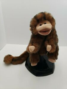 FOLKMANIS-Classic-Puppets-Brown-MONKEY-Plush-Hand-Puppet-Full-Body-Puppet-22-034