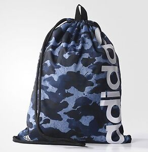 0349d108d9 Image is loading adidas-Linear-Performance-Graphic-Unisex-Drawstring-Gym -Sport-
