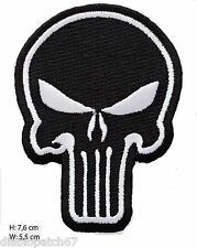 "Punisher Tactical Skull 3x 2.15"" Army Military Biker Punk Airsoft Tatoo Patch"