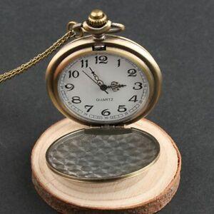 unisex-retro-bronze-quarz-schmuck-halskette-anhaenger-taschenuhr
