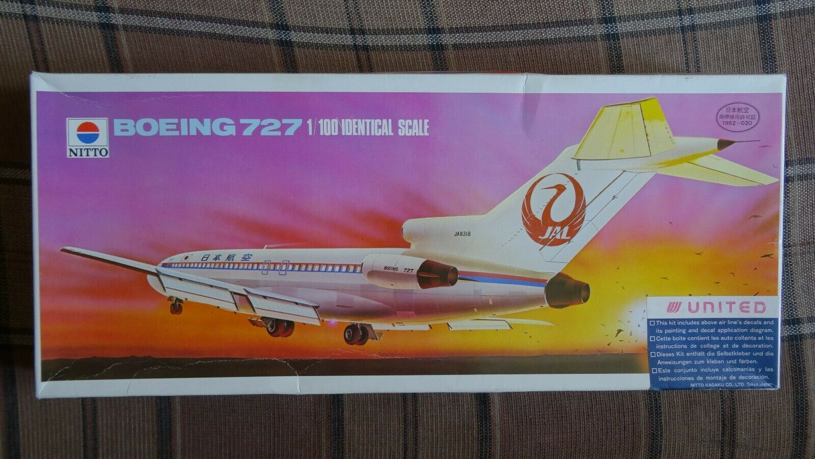 Boeing 727-200  1 100     NITTO   Doyusha
