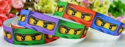 YARD LEGO NINJAGO GROSGRAIN RIBBON CHARACTER
