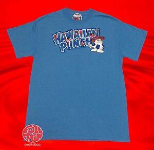 New-Hawaiian-Punch-Mens-Blue-T-Shirt
