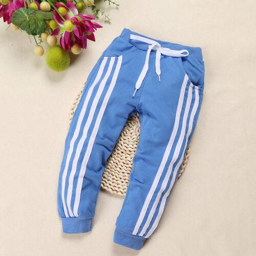 Kids Boys Toddler Trousers Harem Pants Sweatpants Elastic Waist Jogger Tracksuit