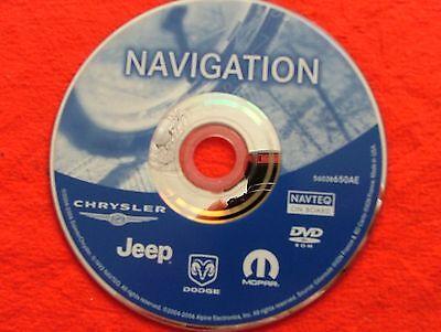 Chrysler/Jeep REJ Navigation 2012 Sat Nav Disc Update. UK & Europe.