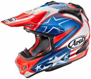ARAI-V-Cross4-HAYDEN-SB-L-59-60cm-motor-cycle-helmet-VX-PRO4-NICKY-7-MX-V-w-Tr